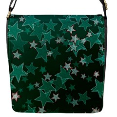 Star Seamless Tile Background Abstract Flap Closure Messenger Bag (s)