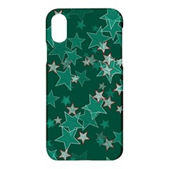 Star Seamless Tile Background Abstract Apple Iphone X Hardshell Case