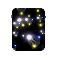 Abstract Dark Spheres Psy Trance Apple Ipad 2/3/4 Protective Soft Cases