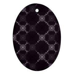 Abstract Seamless Pattern Ornament (oval)