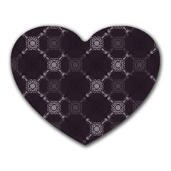 Abstract Seamless Pattern Heart Mousepads