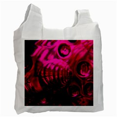 Abstract Bubble Background Recycle Bag (one Side) by Jojostore