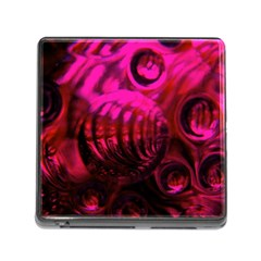 Abstract Bubble Background Memory Card Reader (square 5 Slot) by Jojostore