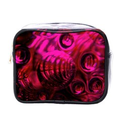 Abstract Bubble Background Mini Toiletries Bag (one Side) by Jojostore