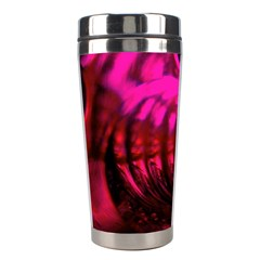 Abstract Bubble Background Stainless Steel Travel Tumblers