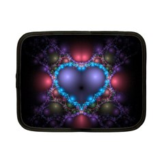 Blue Heart Netbook Case (small) by Jojostore