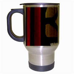 A Detail Of A Stained Glass Window Travel Mug (silver Gray)
