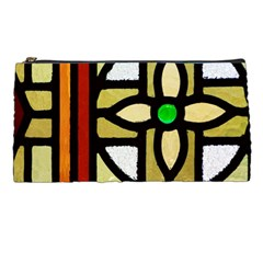 A Detail Of A Stained Glass Window Pencil Cases by Jojostore