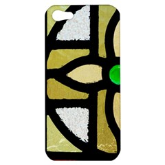 A Detail Of A Stained Glass Window Apple Iphone 5 Hardshell Case by Jojostore