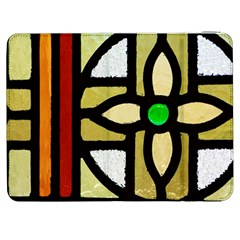 A Detail Of A Stained Glass Window Samsung Galaxy Tab 7  P1000 Flip Case