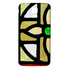 A Detail Of A Stained Glass Window Samsung Galaxy S5 Back Case (white)