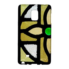 A Detail Of A Stained Glass Window Samsung Galaxy Note Edge Hardshell Case by Jojostore