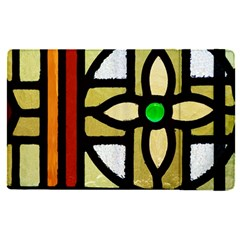 A Detail Of A Stained Glass Window Apple Ipad Pro 9 7   Flip Case