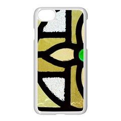 A Detail Of A Stained Glass Window Apple Iphone 7 Seamless Case (white)