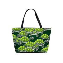 Seamless Tile Background Abstract Turtle Turtles Classic Shoulder Handbag by Jojostore