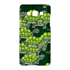Seamless Tile Background Abstract Turtle Turtles Samsung Galaxy A5 Hardshell Case