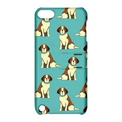 Dog Animal Pattern Apple Ipod Touch 5 Hardshell Case With Stand by Jojostore
