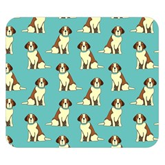 Dog Animal Pattern Double Sided Flano Blanket (small)