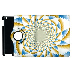 Tech Neon And Glow Backgrounds Psychedelic Art Psychedelic Art Apple Ipad 3/4 Flip 360 Case