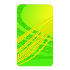 Abstract Green Yellow Background Memory Card Reader (rectangular)