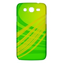 Abstract Green Yellow Background Samsung Galaxy Mega 5 8 I9152 Hardshell Case  by Jojostore