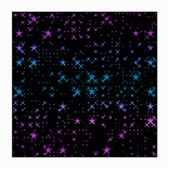 Stars Pattern Seamless Design Medium Glasses Cloth