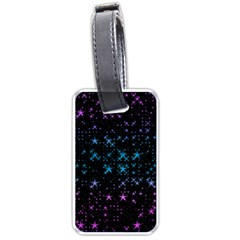 Stars Pattern Seamless Design Luggage Tags (one Side)