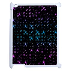 Stars Pattern Seamless Design Apple Ipad 2 Case (white)
