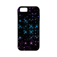 Stars Pattern Seamless Design Apple Iphone 5 Classic Hardshell Case (pc+silicone)