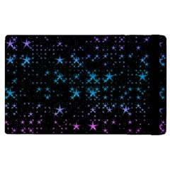 Stars Pattern Seamless Design Apple Ipad Pro 12 9   Flip Case