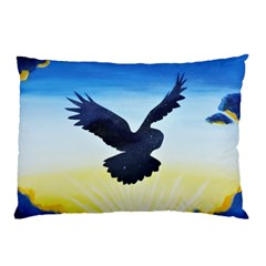Sunset Owl Pillow Case (two Sides)