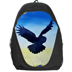 Sunset Owl Backpack Bag