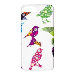 Birds Colorful Floral Funky Apple Iphone 7 Plus Hardshell Case