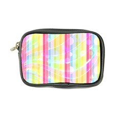 Colorful Abstract Stripes Circles And Waves Wallpaper Background Coin Purse