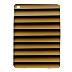 Golden Line Background Ipad Air 2 Hardshell Cases
