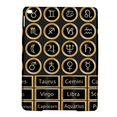 Black And Gold Buttons And Bars Depicting The Signs Of The Astrology Symbols Ipad Air 2 Hardshell Cases by Jojostore