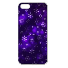 Bokeh Background Texture Stars Apple Seamless Iphone 5 Case (clear) by Jojostore