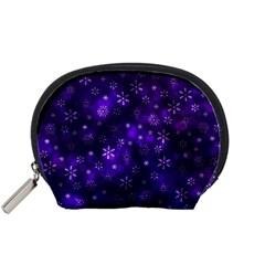 Bokeh Background Texture Stars Accessory Pouch (small)