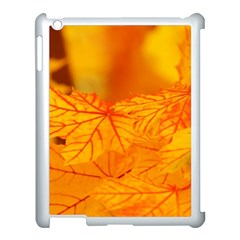 Bright Yellow Autumn Leaves Apple Ipad 3/4 Case (white)