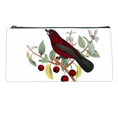 Bird On Branch Illustration Pencil Cases by Jojostore