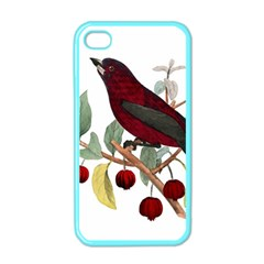 Bird On Branch Illustration Apple Iphone 4 Case (color) by Jojostore