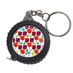 Tree Pattern Background Measuring Tape
