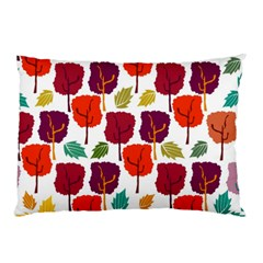 Tree Pattern Background Pillow Case (two Sides)
