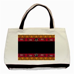 Pattern Ornaments Africa Safari Summer Graphic Basic Tote Bag