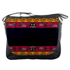 Pattern Ornaments Africa Safari Summer Graphic Messenger Bag