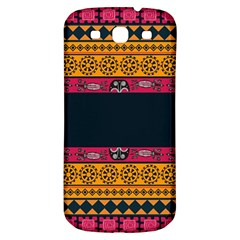 Pattern Ornaments Africa Safari Summer Graphic Samsung Galaxy S3 S Iii Classic Hardshell Back Case