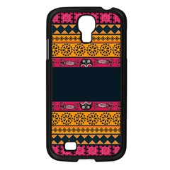 Pattern Ornaments Africa Safari Summer Graphic Samsung Galaxy S4 I9500/ I9505 Case (black)