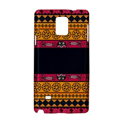 Pattern Ornaments Africa Safari Summer Graphic Samsung Galaxy Note 4 Hardshell Case