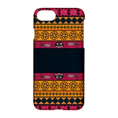Pattern Ornaments Africa Safari Summer Graphic Apple Iphone 8 Hardshell Case by Jojostore