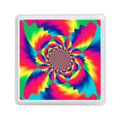 Colorful Psychedelic Art Background Memory Card Reader (square) by Jojostore